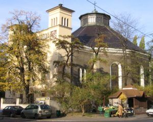 Langhans' Church of St. Joseph in Wroclaw