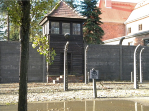 Walls, Tower, and Fence of Auschwitz I