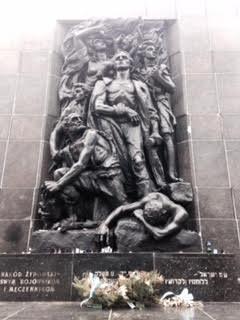 Warsaw Ghetto Uprising Monument. Taken by-Domenca Vera