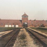 Auschwitz II-Birkenau – Photo taken of a postcard purchased at gift shop