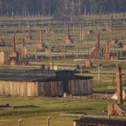 The Remaining Structures at Auschwitz-Birkenau (Source: https://www.vosizneias.com/wp-content/uploads/2012/02/Poland-US-Holocaust_sham-725x485.jpg)