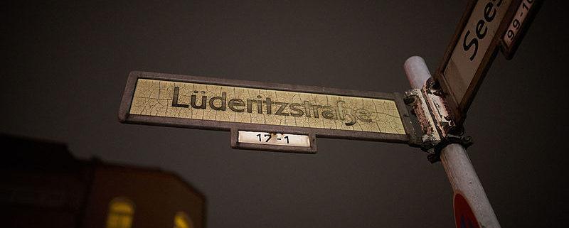 African Street Name in Berlin (by Denis Barthel)